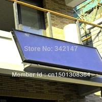 120L split balcony wall-mounted solar water heater system with  ISO 9001-2008  SRCC Solar Keymark CE CCC