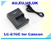Hot-sale 100%New Free Shipping DHL 60pcs/lot LC-E10C Charger For Canon Digital Camera Li-ion Battery LP-E10 EOS 1100D
