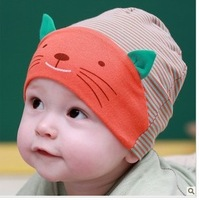 2014 Promotion Direct Selling Character Unisex All Code Baby Autumn And Winter Hat Male Child Small for Cotton Cloth Pocket