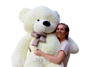 Joyfay гигант плюшевый мишка 78 '' 200 см 2 м чучела плюшевые игрушки мягкие игрушки лучший валентина подарок для любовника подруги