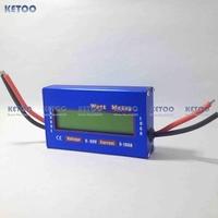 New Digital 60V 100A Battery Balance LCD Voltage Power Analyzer Watt Meter Energy Meters Amp-Hour Tester Checker Free shipping
