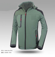 free shipping the camping windproof coat sportswear men climbing soft shell Denali fleece jacket