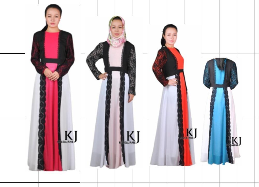 Мусульманская одежда KJ322 5color мусульманская одежда 20pcs lot