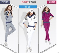 Hot sell fashion sweatshirt set  sportswear designs