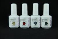 168 colors Available 12pcs/lot(10 color gel+1base+1topcoat) Soak Off  UV/LED Gel Polish 15ml/ 0.5oz each Nail Polish