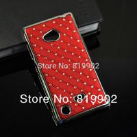 Luxury Bling Diamond rhinestone Hard Back Case Protective Cover for Nokia Lumia 720