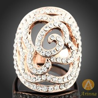 [Arinna Jewelry] Classical fashion rings 2013 Gold jewelry rings for women lady gift free shipping J3059