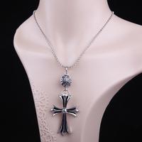 Women Lady Short Design Wild Cross Necklace