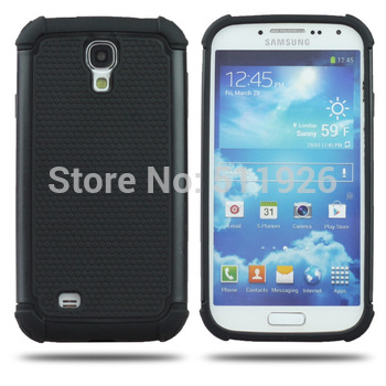 Wholesale New frosted TPU silicon Cellphone phone Case 2 in 1 Back Cover For Sumsung Galaxy SIV S4 I9500