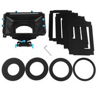 FOTGA DP3000 Pro DSLR matte box w/ sunshade boards donuts for 15mm rod rail rig follow focus