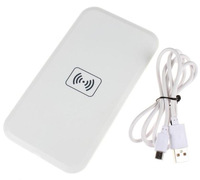 White Qi Wireless Charger Charging Pad Receiver Kit for Samsung Galaxy S4 SIV i9500,Free Shipping!