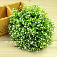 Fresh artificial flower set plastic flower rustic home decoration props flower decorative flowers 30pcs/lot