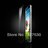 Newest Top Quality Tempered Glass Explosion-proof Membrane Screen Protector  with Retail packagingFor Samsung S4 9500