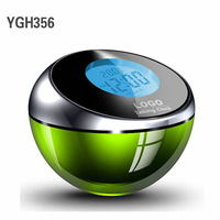 High Quality Cool Talking Digital Alarm Clock with LED Light YGH356 Free Shipping