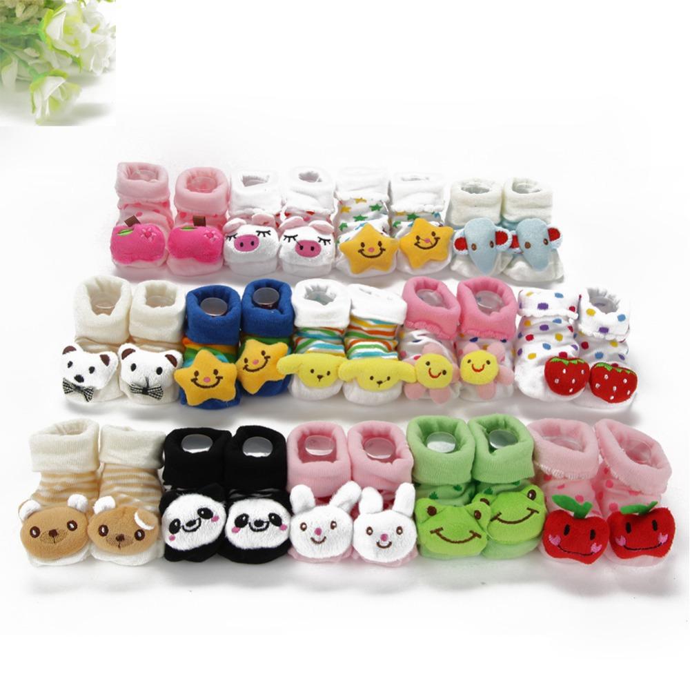 Kids Baby Unisex Newborn Animal Cartoon Socks Cotton Shoes Booties Boots 0-10M Free shipping & Drop shipping XL192(China (Mainland))