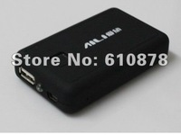Safe shipping,New AA or AAA/14500 10400 Battery Box Mobile power supply box for Iphone4 Ipad Emergency charging treasure