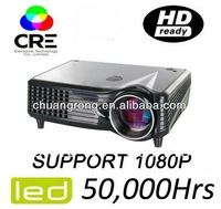 Cheapest LCD Projector X201 with LED cool light