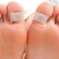 3 Pairs Slimming Magnetic Silicon Foot Massage Toe Ring Weight Loss Easy Healthy GT245