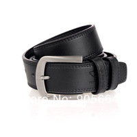 Free shipping.mens' leather belt .GIFT.Real leather waist belts.fashion belt,brand,pin buckle belts