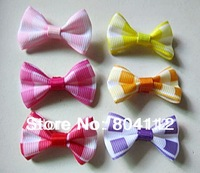 Cute Brick  Grosgrain Ribbon Bows for Handcrafted Decorate