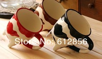 free shipping Fashionable originality cup ceramic coffee cup milk cup with 3pcs
