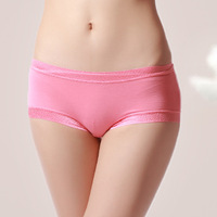 Free shipping Cheap bamboo fiber lace underwear Wholesale sexy bamboo underwear panties