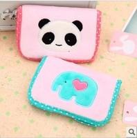 Han edition 3545 han han panda lovely green bear coin purse women card bag, card sets of free shipping