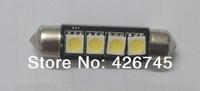 Free Shipping Best Seller 41mm 4SMD5050 Festoon LED Car Light