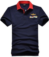 RETAIL AERONAUTICA MILITARE Men's Polo Shirt  Air Force One Embroidered Free Shipping A-03