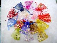 9x12cm,90x120mm Christmas&Wedding Jewelry Organza Gift Bags