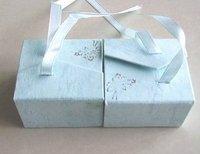 Free shipping ! 5x4.5x3.2cm JEWELRY RING BOX
