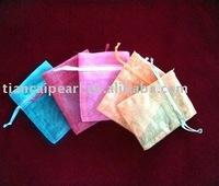 Free ship!!!  1000pcs Jewelery Gift Organza bag 5x7cm