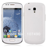 "Dual core phone Star S9920 I8190 MTK6577 Dual-Core Android 4.0 os 4.0"" Touch Screen 3G GPS WIFI black/white Mobile Phone"