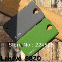 Free Shipping ,High Quality Matte hard Cover Case Back Cover for Lenovo S820 case LX123