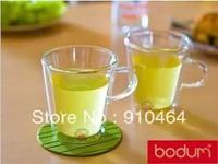 (Original) Bodum Canteen Double Wall Glasses coffee or tea mug/cup 6.5 Ounce (200ml), Set of 2 ,Free shipping