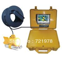 Free Shipping for 20m sony fish style Underwater CCTV camera,underwater fishing camera ,fish finder,waterproof camera