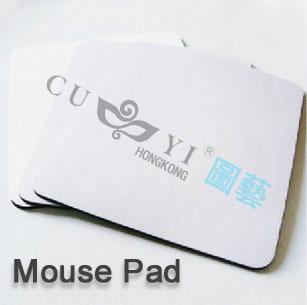 DIY mouse pad mats 18*22*0.3CM white sublimation blank mouse pad mats 50pcs/lot(China (Mainland))