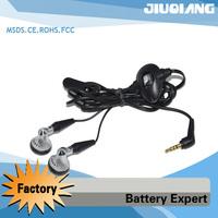 Free shipping 30PCS  Earphone for Blackberry Headphones Headset with Mic for Blackberry 8100 8700 8800 8820