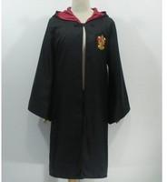 Harry Potter Youth Adult Robe Cloak Gryffindor&Slytherin Costume