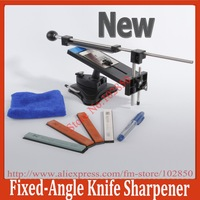 2013 updated Professional Fixed-angle Kitchen Knife Sharpener System with 4 Stones Version II,knife blades sharpening system