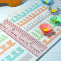 2014 New 96PCS/Set  Quilled Creations Spiral Quilling Paper Flowers,  Quilling Dies Free Shipping