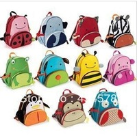 2013 hotsale animal type 2-6 years old student schoolbag,fashion style brand famous child backpack for school,kindergarden bag