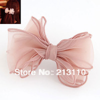 Fashion cute Big Butterfly Lace Hair clip Hair Accessory High Quality Free Shipping