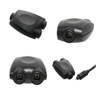 2-Way Splitter Double Adaptor for Toslink Optical Fibre Digital Audio Cables