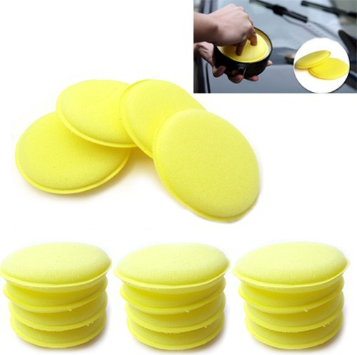 60pcs Wholesale Waxing Polish Wax Foam Sponge Applicator Pads Clean Car Glass Cheap Cleaner Free Shipping(China (Mainland))