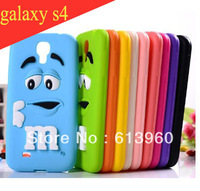 New Arrival 3D Cartoon Cute Aromatic Smell Case For samsung galaxy s4 Soft Silicon i9500 case Skin Back Cover Shell Protector