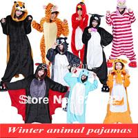2014 Kawaii Winter Pajamas Women Animal Pajamas Jumpsuits Red Bird Anime Cosplay Costume Sleepwear Sleepsuit,Free Shipping