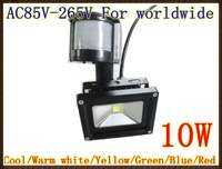 240V 10W PIR LED Flood light White Warm Floodlight Motion Sensor A85V-265V LW41