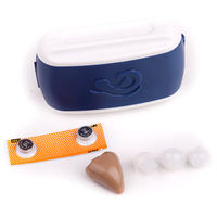 Free Shipping Mini Size Best Sound Voice Amplifier Adjustable Tone Ear Assistant Care Hearing Aids