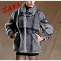 2014 New Fur Coats Time-limited Sale Winter Jacket Women Sfnpc-025 Women's Imitation Marten Overcoat Outerwear Mother Clothing